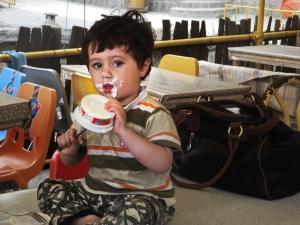 cute boy icecream (1 of 1)